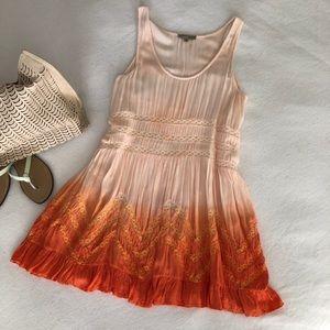 Young Threads NYC Tie-dye Sun Dress